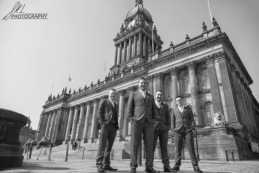 Leeds Town Hall Wedding Photo 231