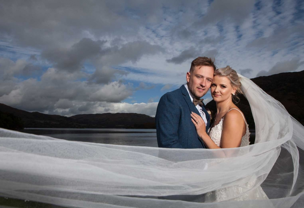 Bridal portraits - SKL Photography - Inn On The Lake - Ullswater