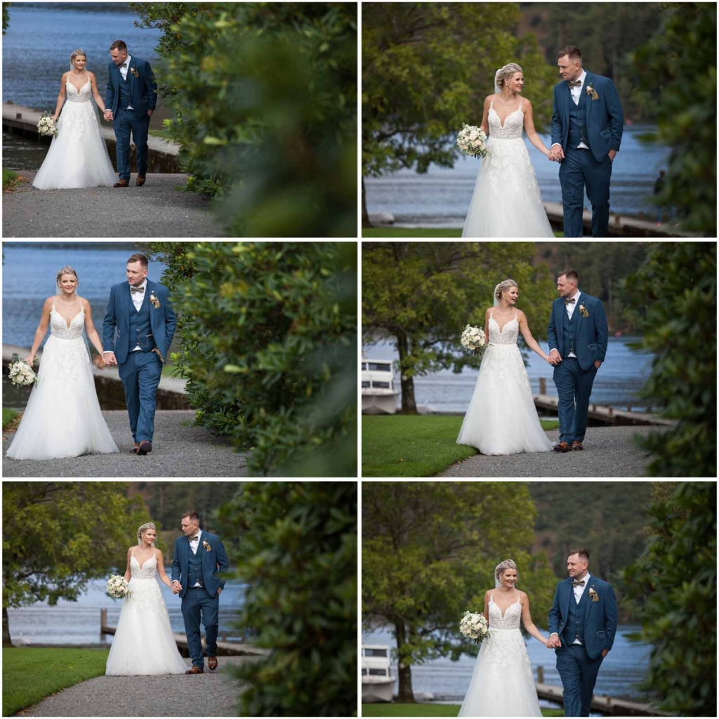Bride & Groom wedding photography at Inn On The Lake